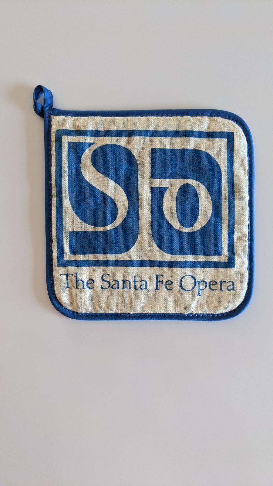 Vintage Santa Fe Opera Pot Holder