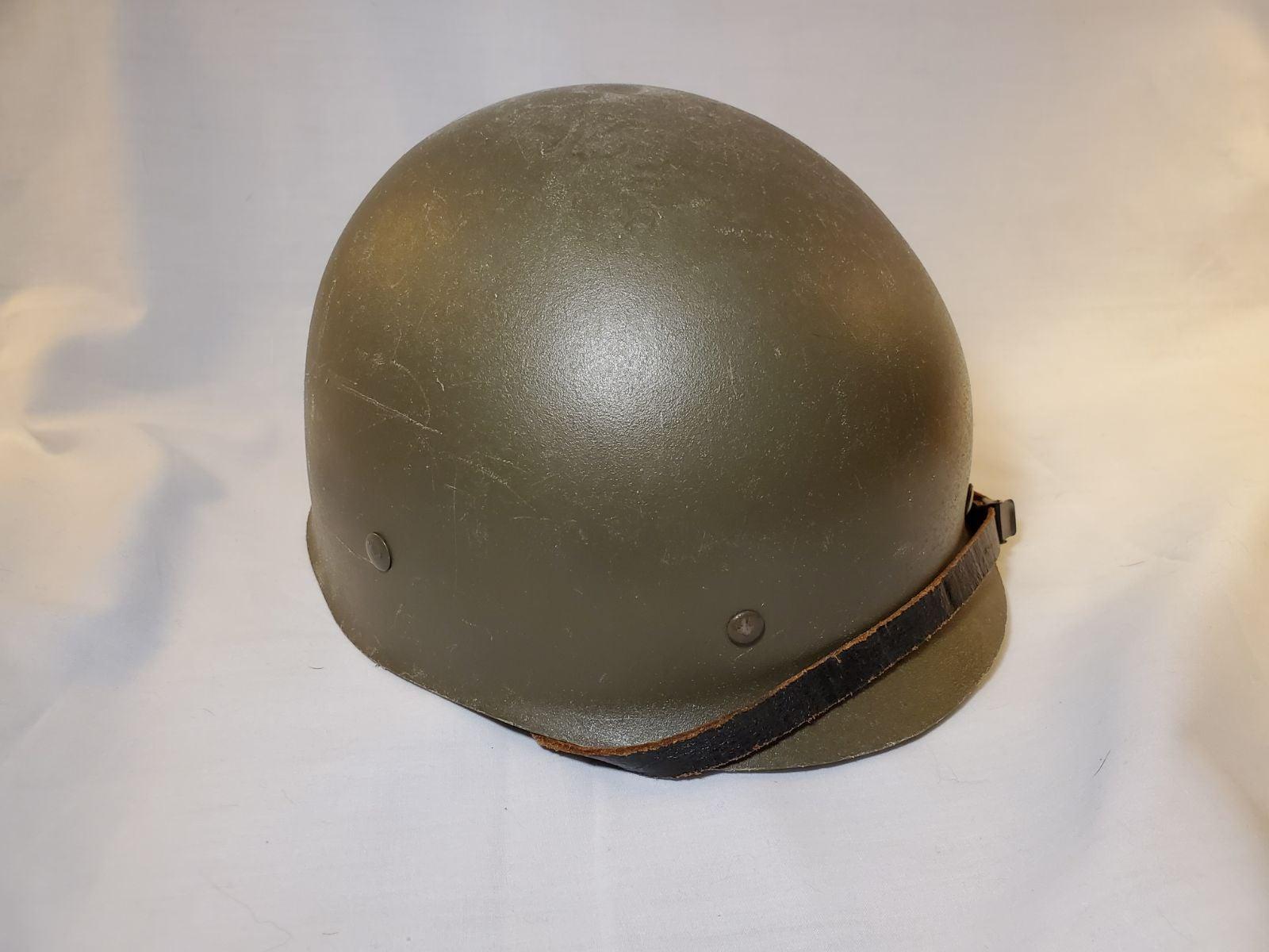 Vintage plastic military helmet liner