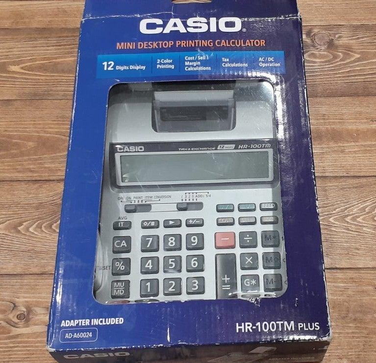 Casio Printing Calculator HR-100TM Pluse
