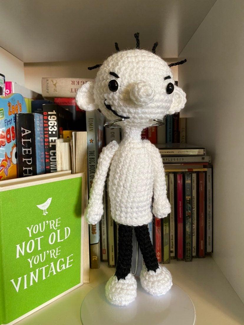 Rodrick amigurumi doll