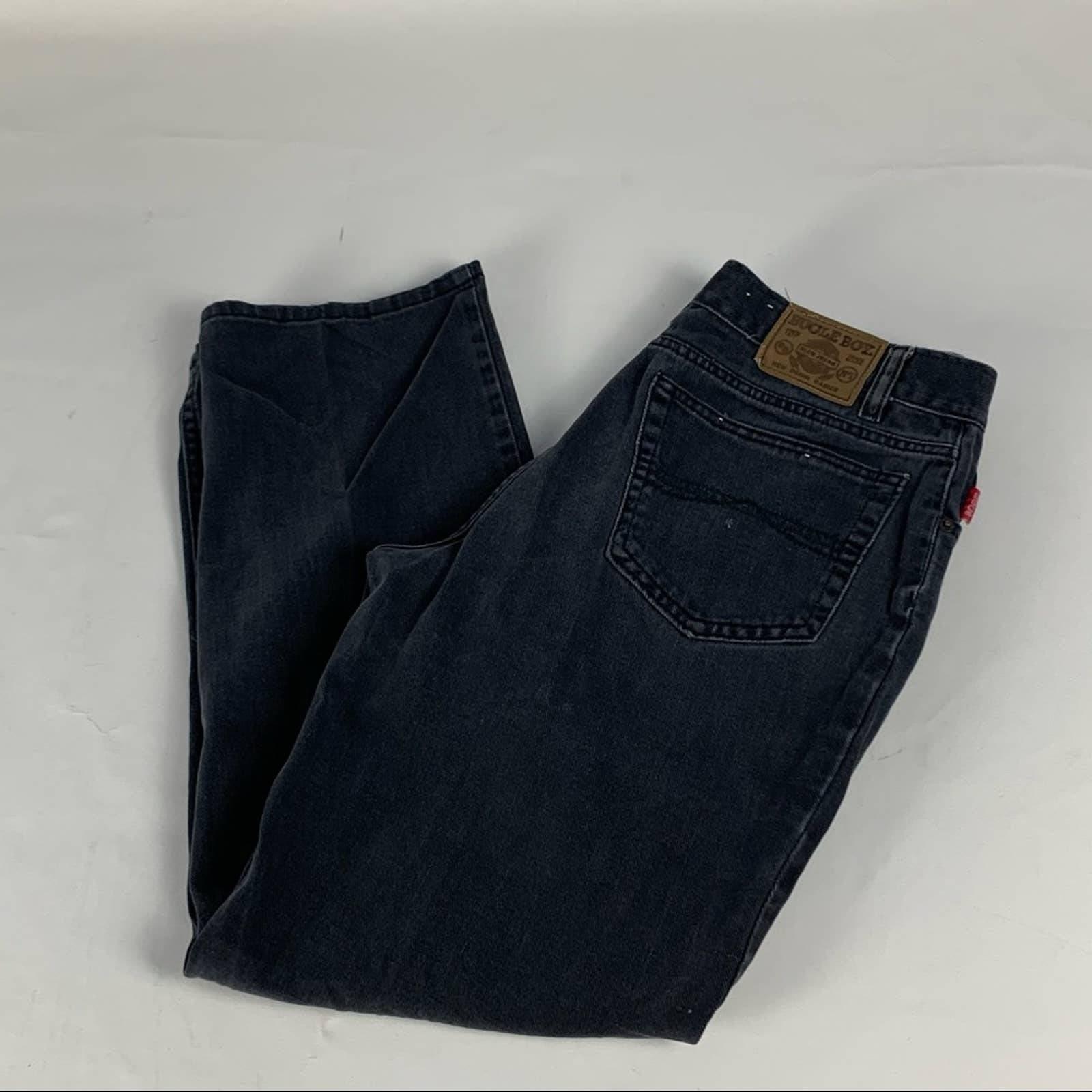 Vintage bugle boy black jeans