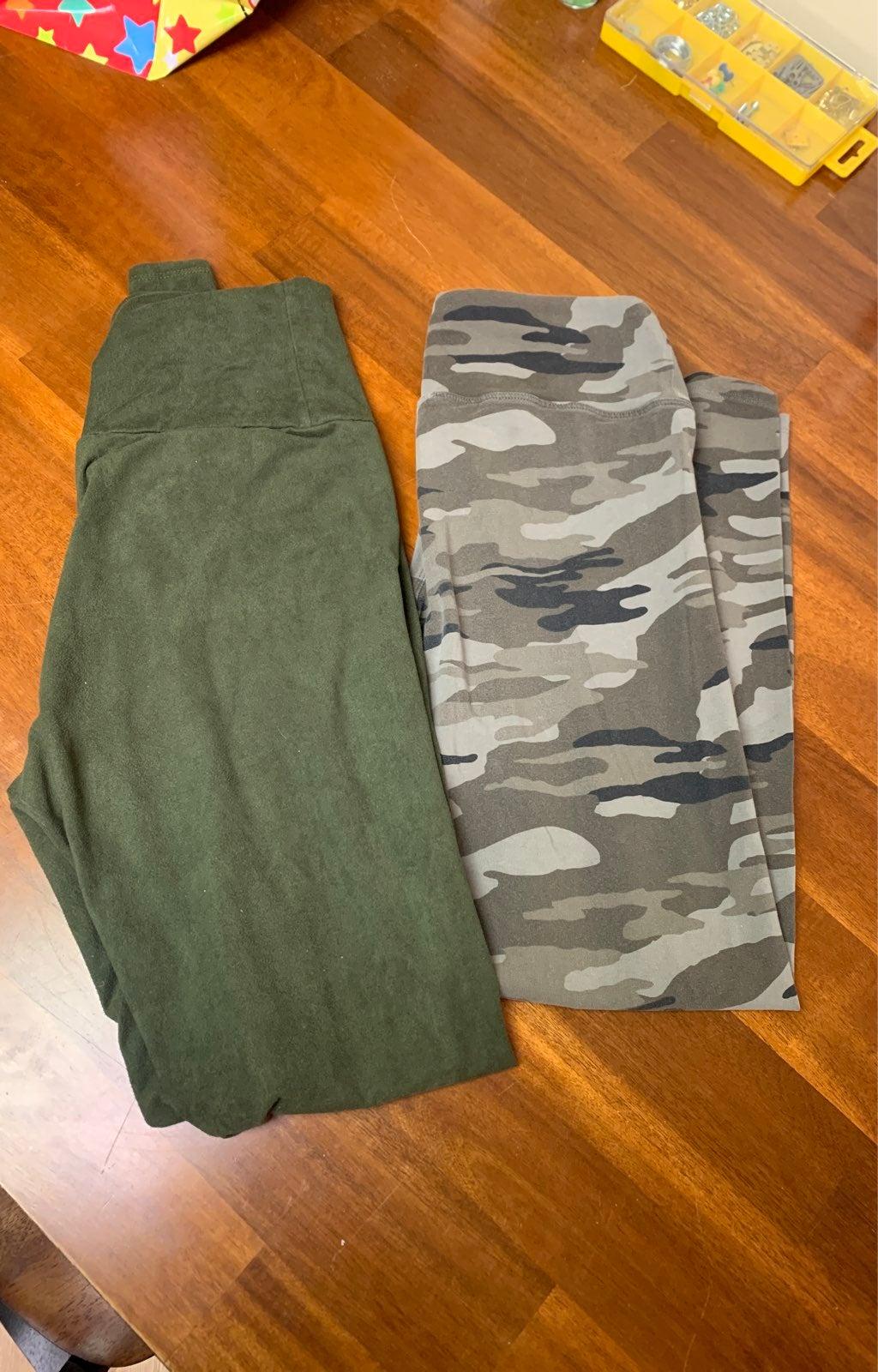 Green leggings bundle