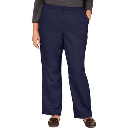 3X Karen Scott Women Pull MidRise Pants