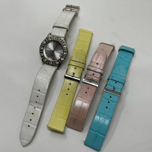 Guess Genuine Leather Watch Straps 18mm