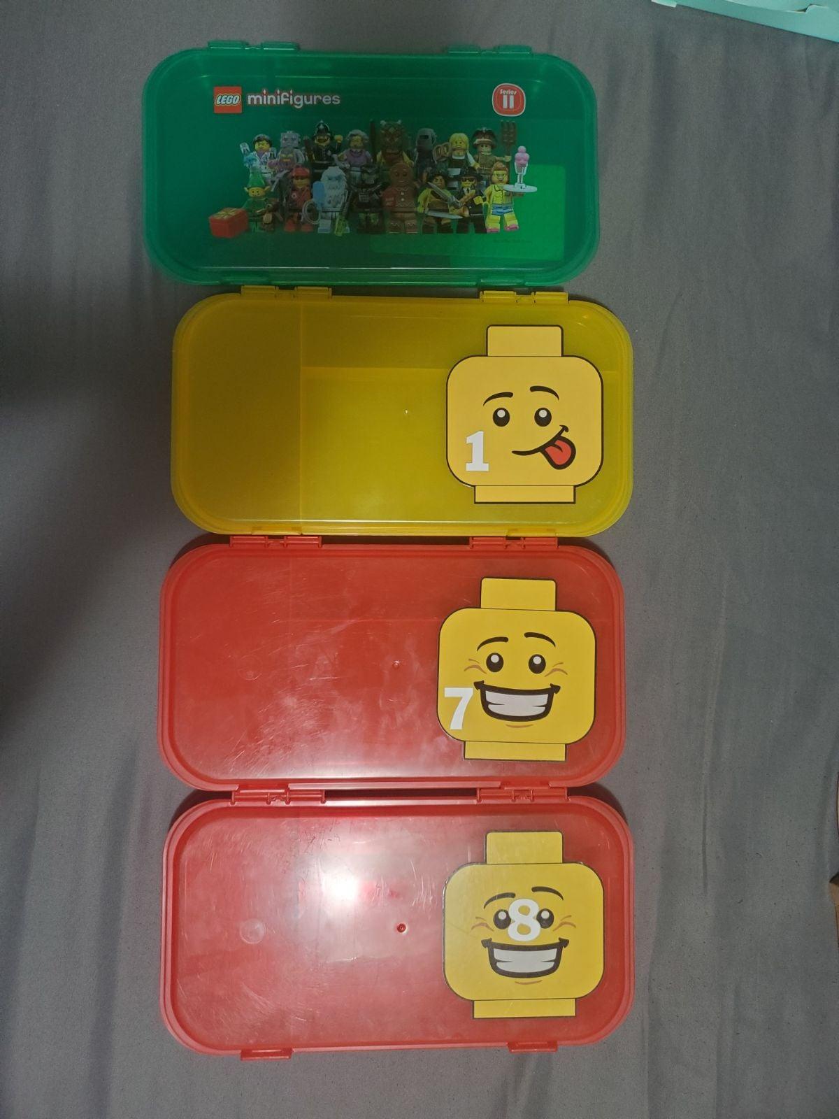 4 Lego cases