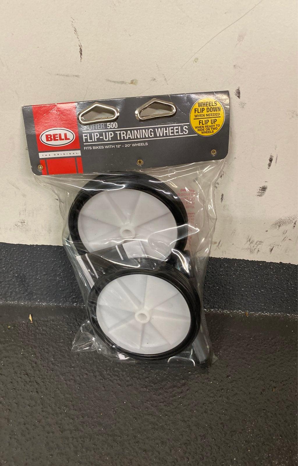 Bell flip up training wheels