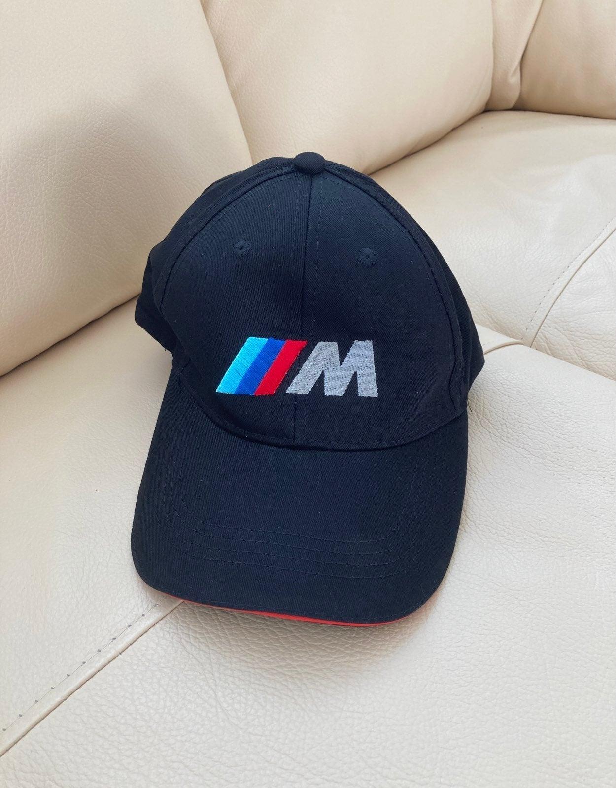 BMW Hat Cap M Logo Black Car Fan