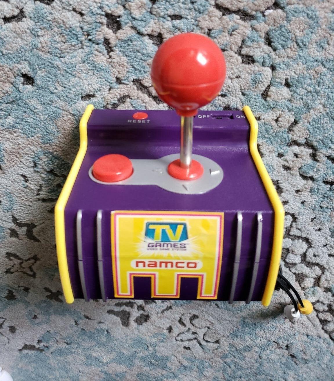 Retro game Nanco joystick with 5 games