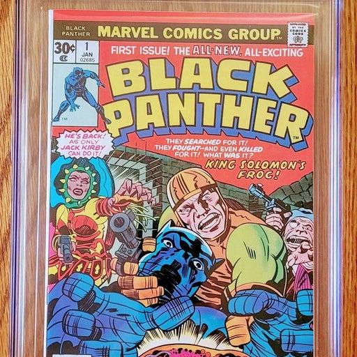 Black Panther #1 CGC 8.5