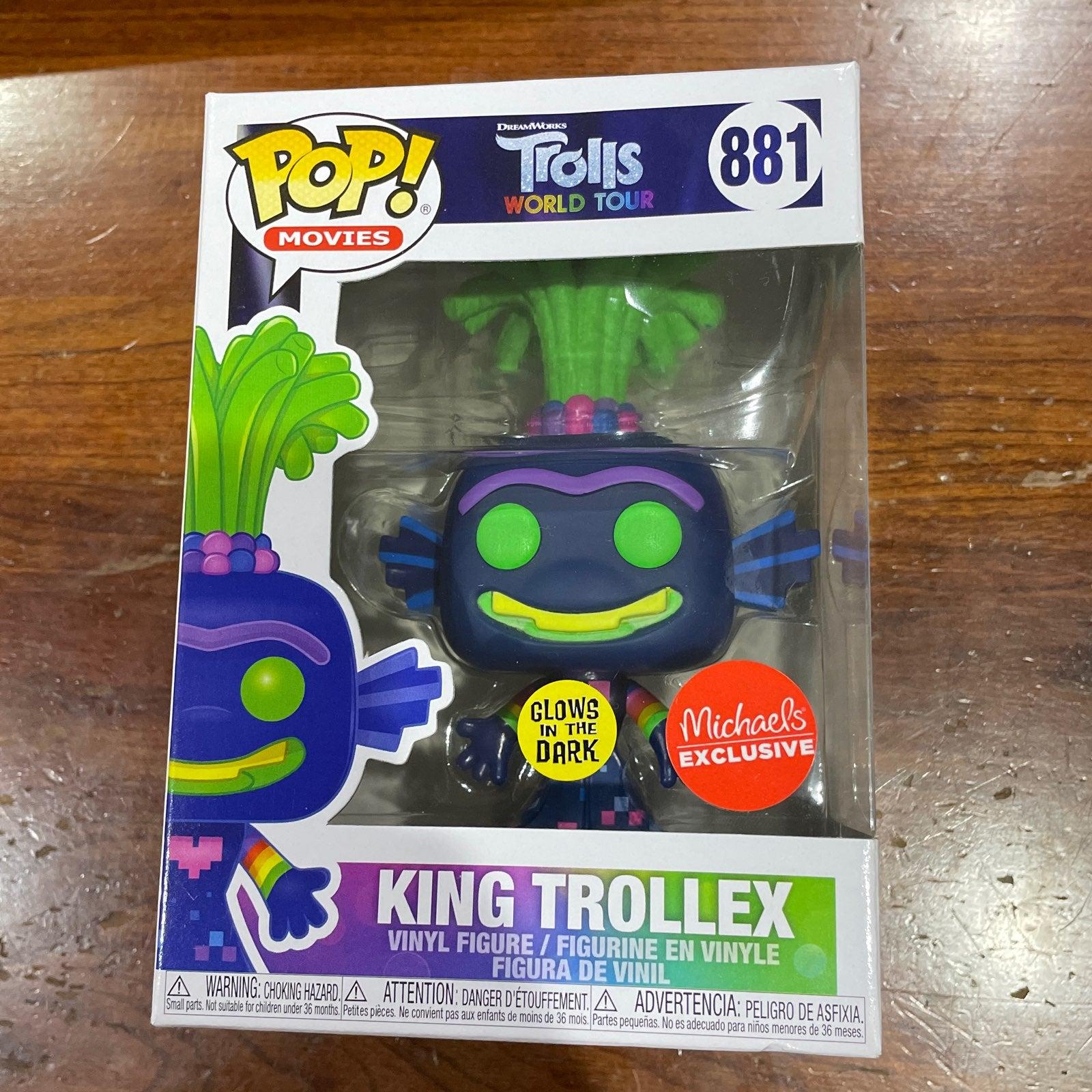 Trolls World Tour King Trollex Funko Pop