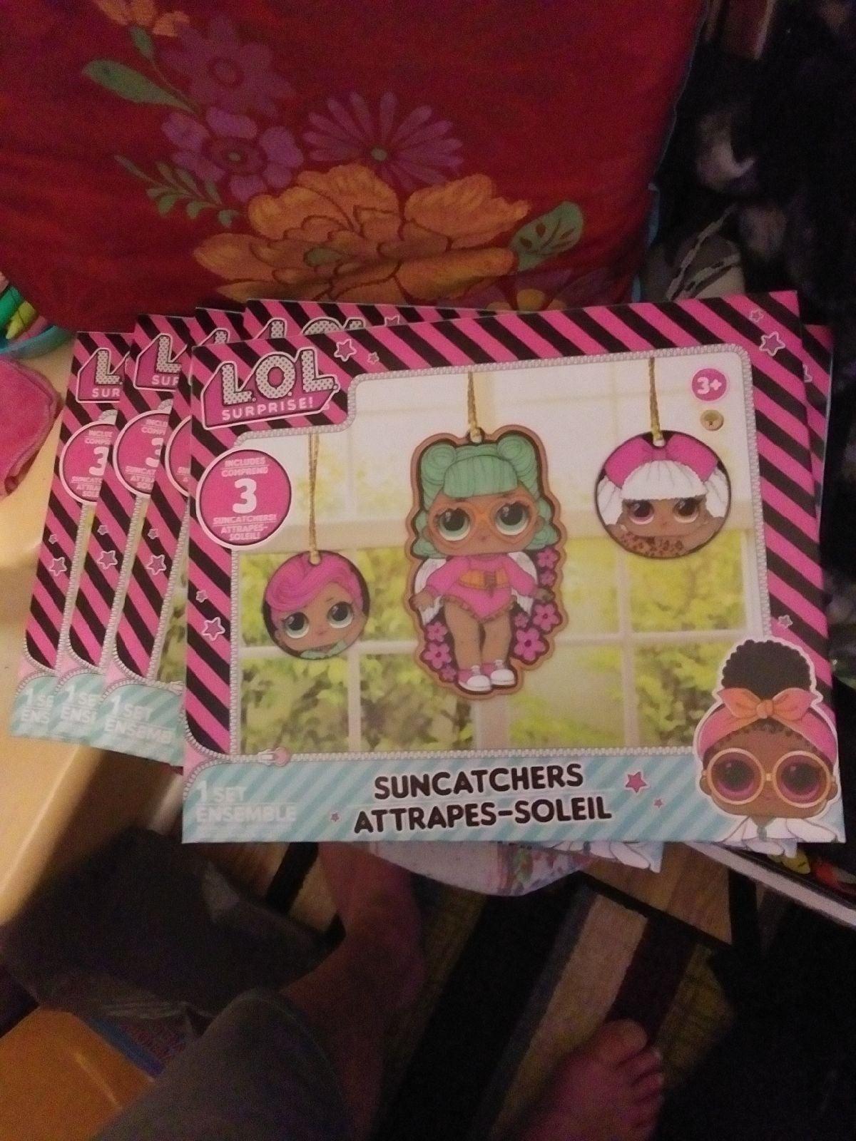 Lol Surprise Suncatchers Sets ×3