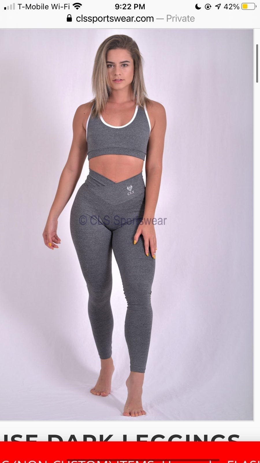 CLS Elite Fuse Dark Leggings