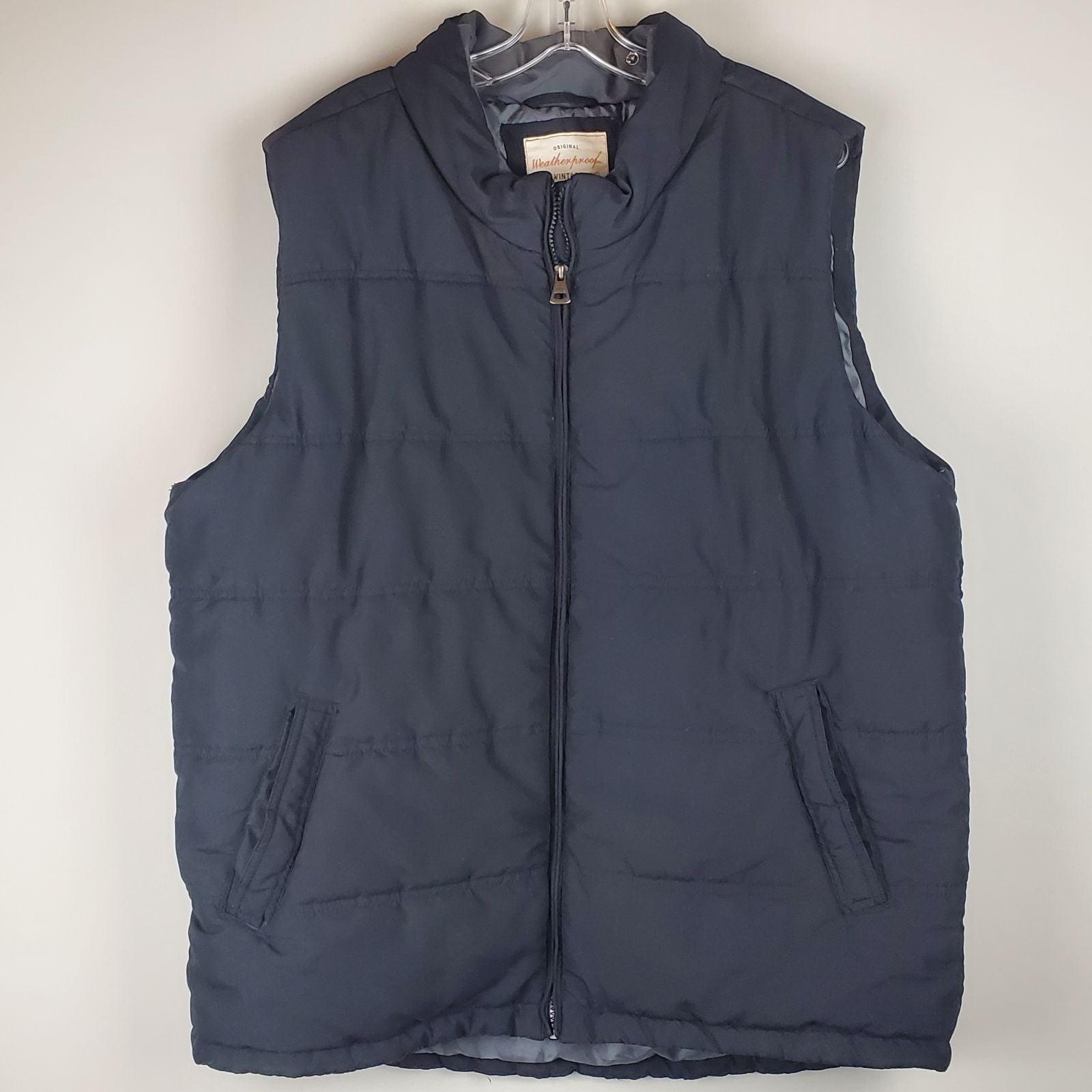 Weatherproof Vintage Black Vest sz2XL