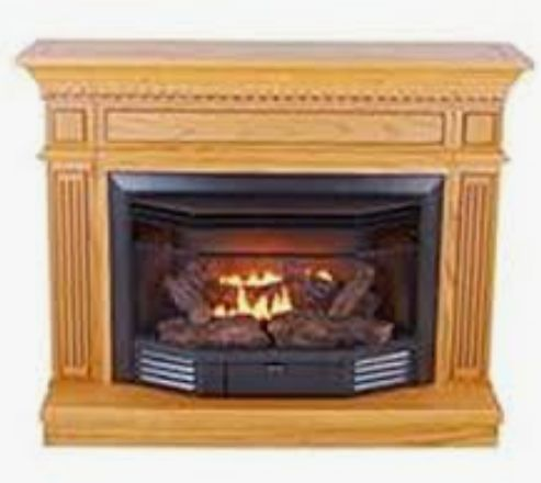 Kozy World Ventless Gas Fireplace (NEW)