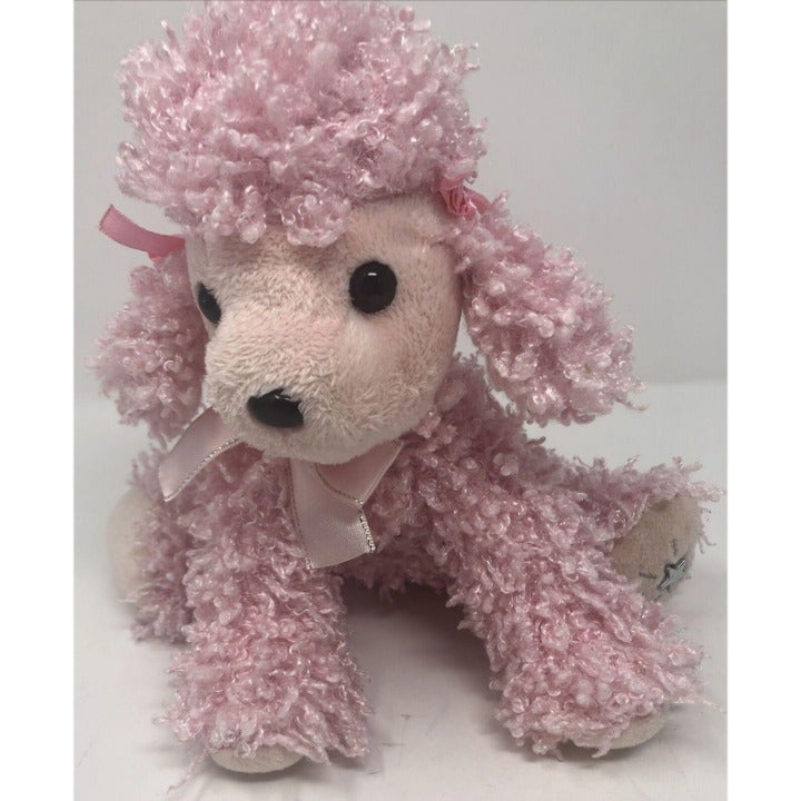 Russ Shining Stars Pink Curly Poodle Pup