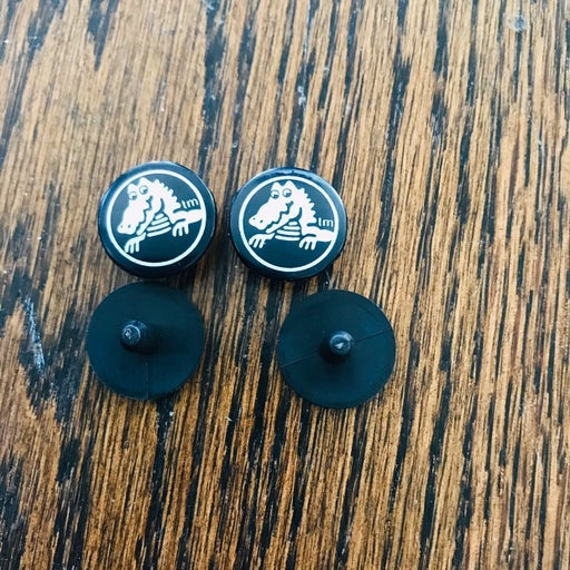 Crocs rivets gloss replacement button