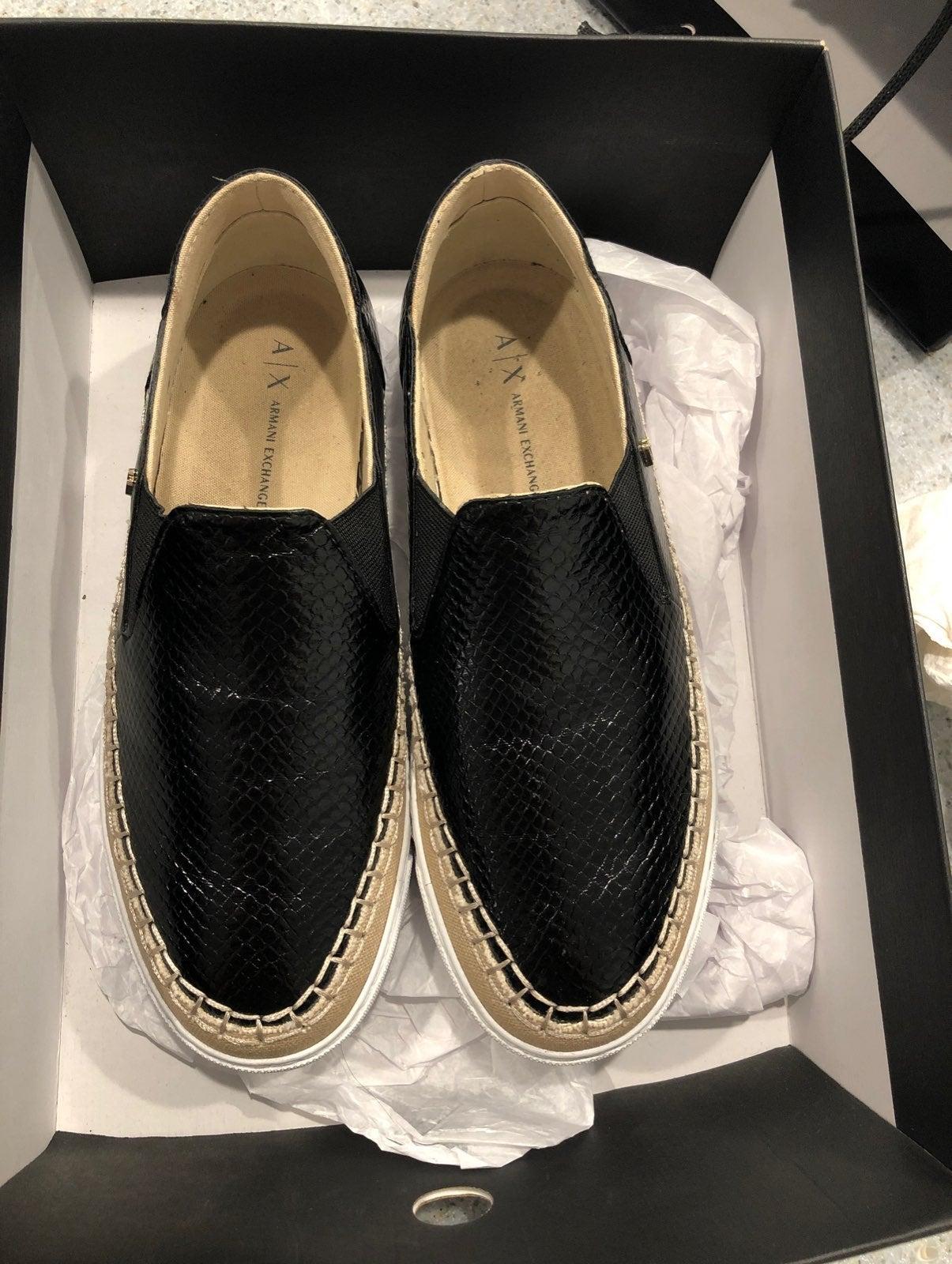 armani exchange shoes
