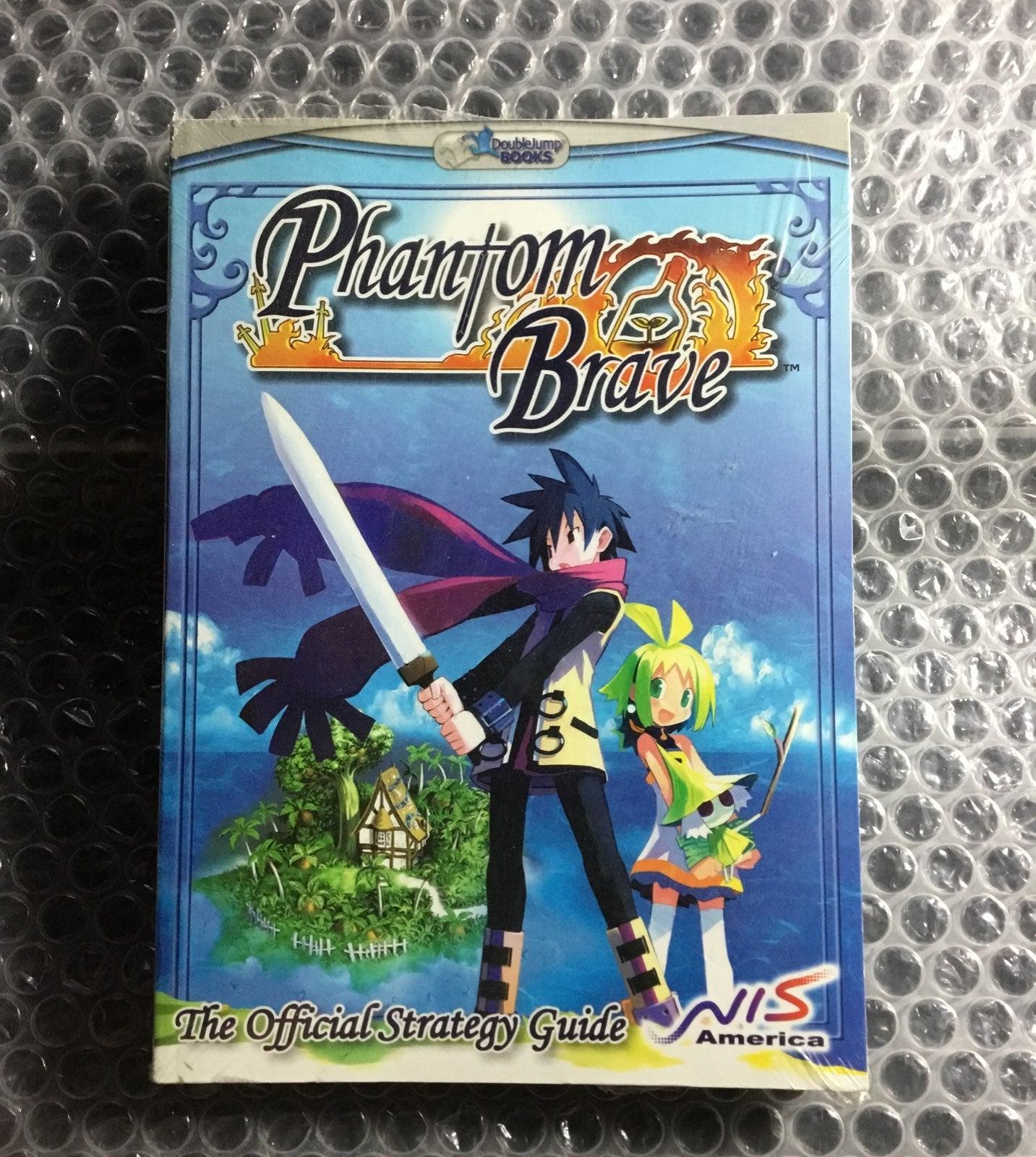 NEW Phantom Brave Official StrategyGuide