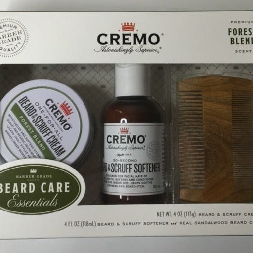 CREMO Beard Grooming Kit FOREST BLEND