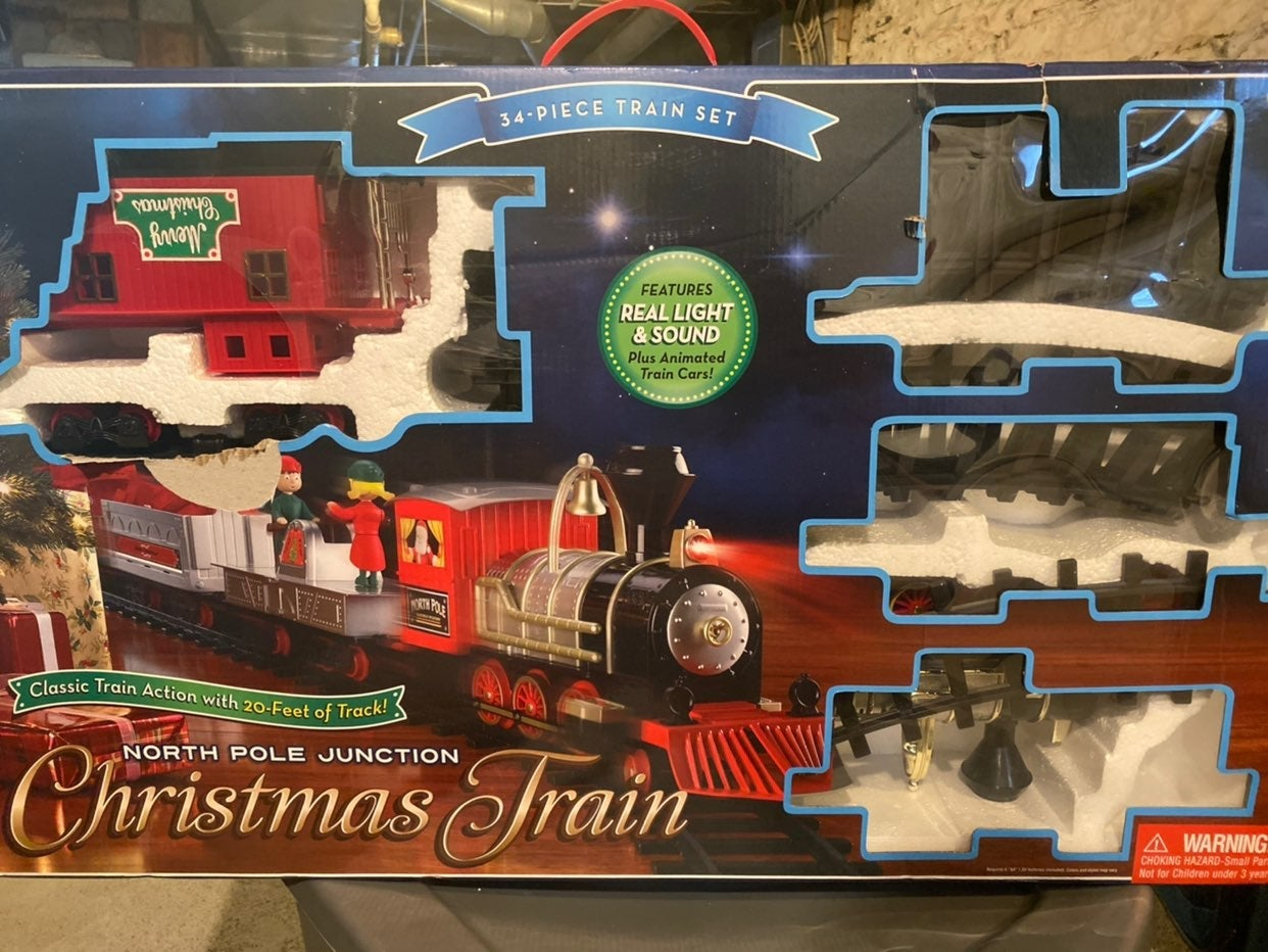 North Pole Junction Christmas Train