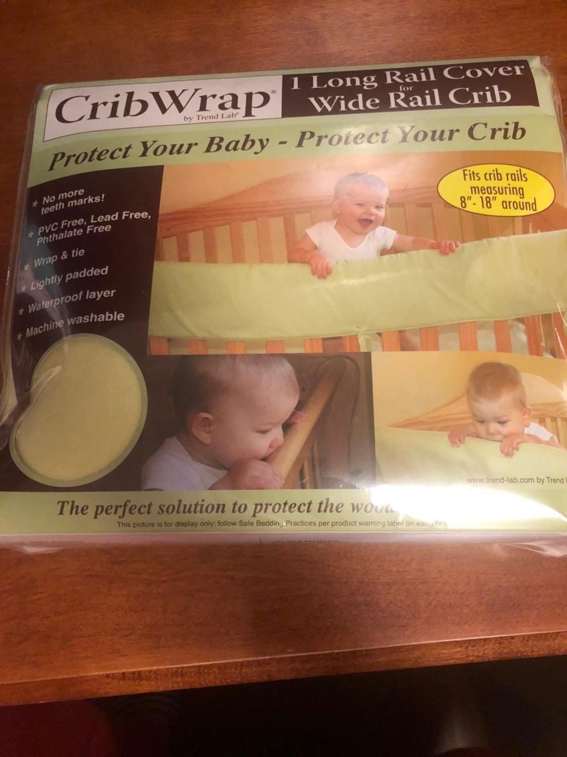 CribWrap Yellow fleece, New