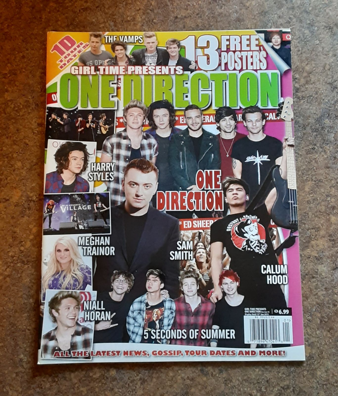 Girl Time Presents ONE DIRECTION Magazin
