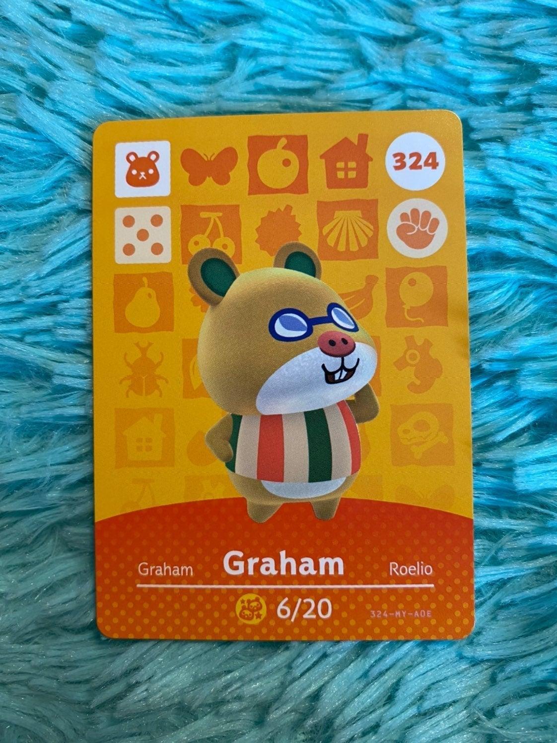 Graham - Animal Crossing Amiibo Card