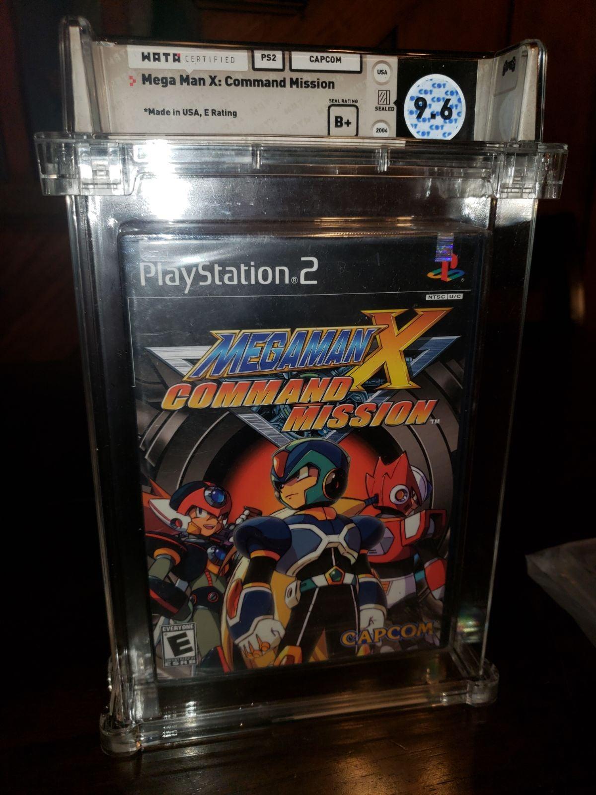 Mega man x command mission ps2 wata 9.6