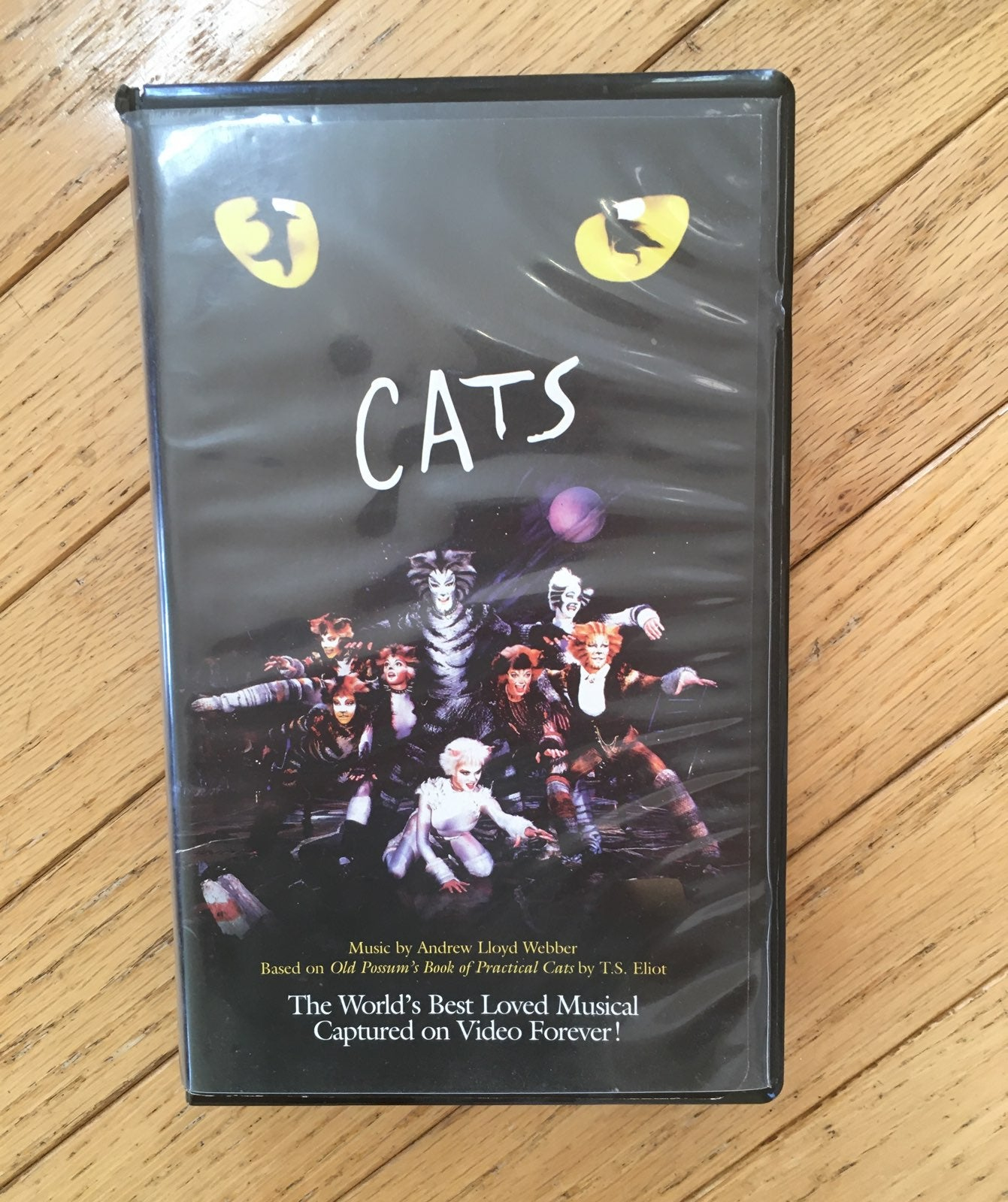 Cats the musical VHS 1984 Clamshell
