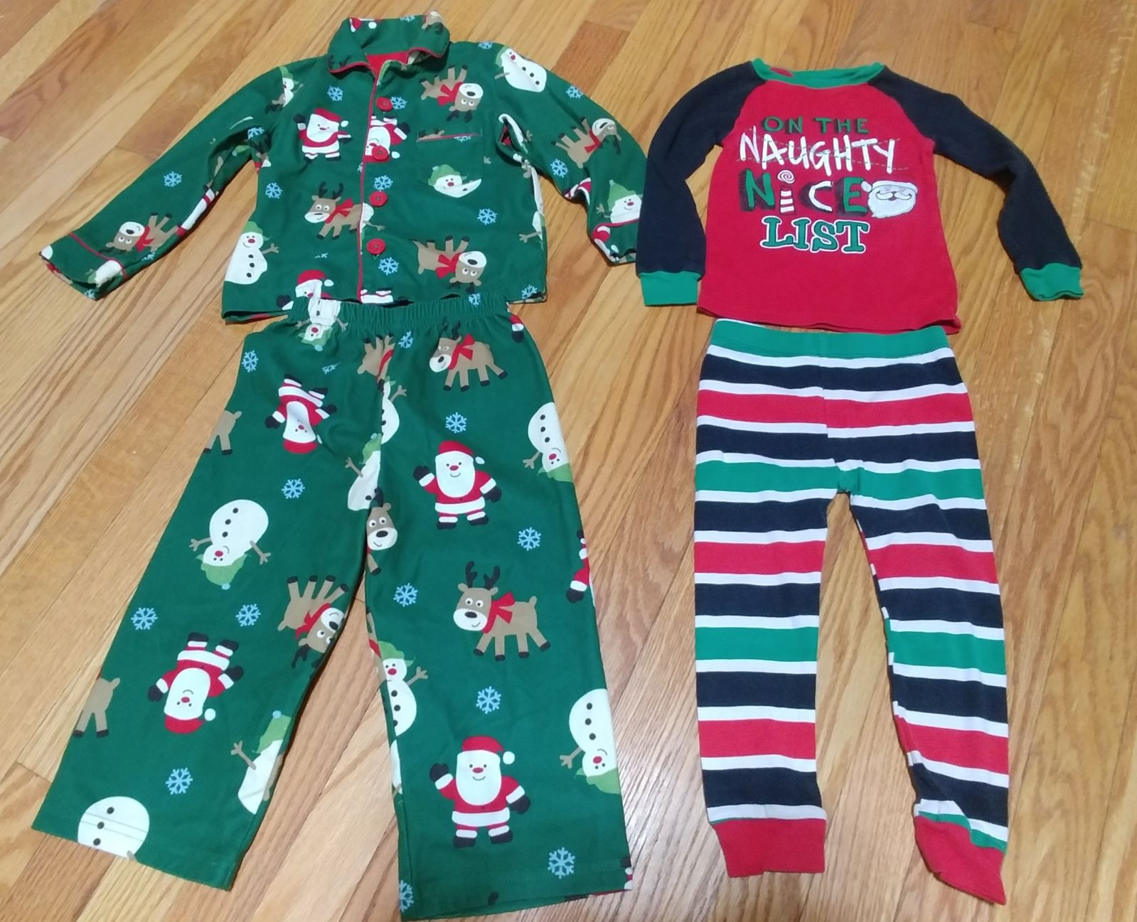 Toddler Boy Pajamas - Size 3t