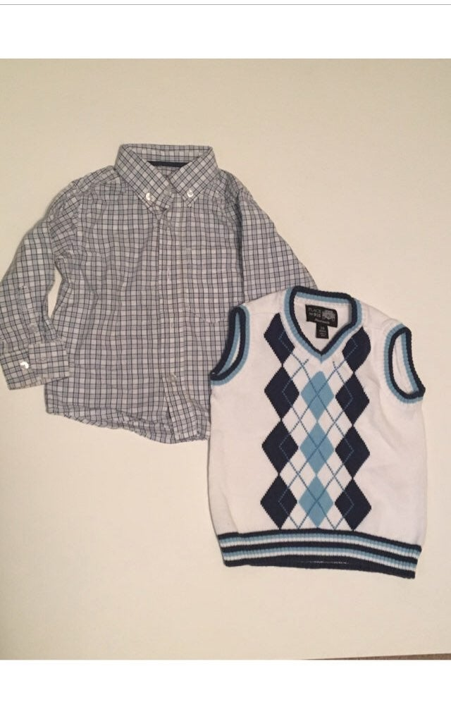18 months boys spring easter sweater ves