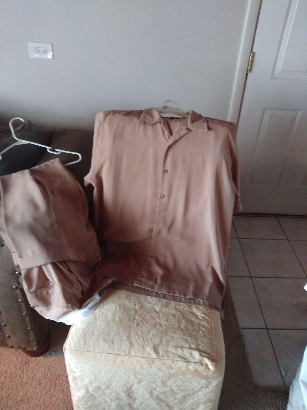 3 Men's XL Walking Suits, 1 Men's Wool C