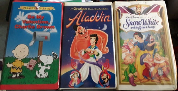 Lot of 3 Wonderful VHS Movies L146
