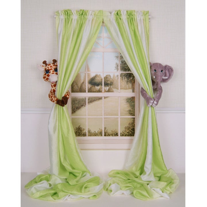 Elephant Giraffe Curtain Tieback Holders
