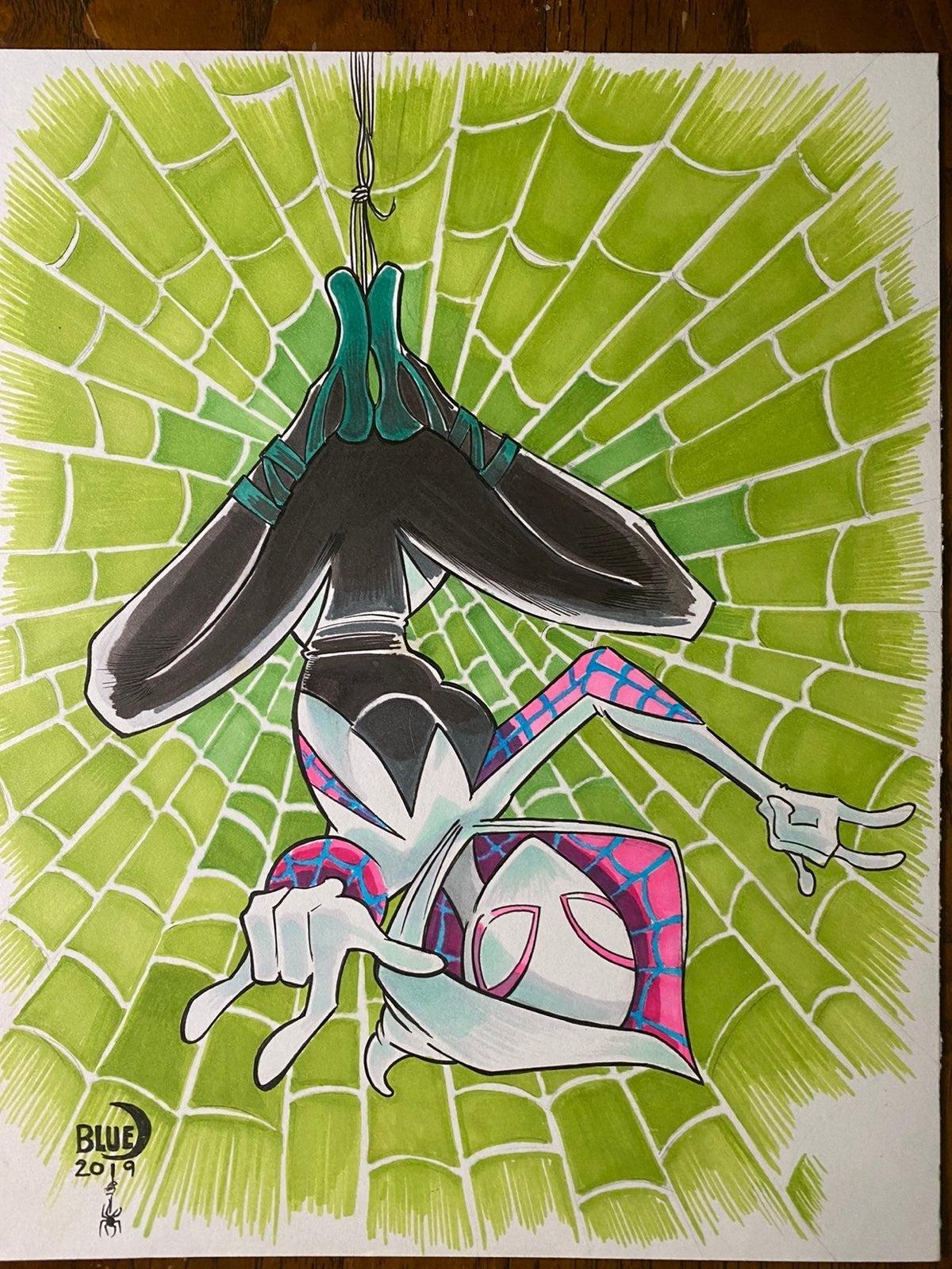Marvel Spider-Man Spider-Gwen original C
