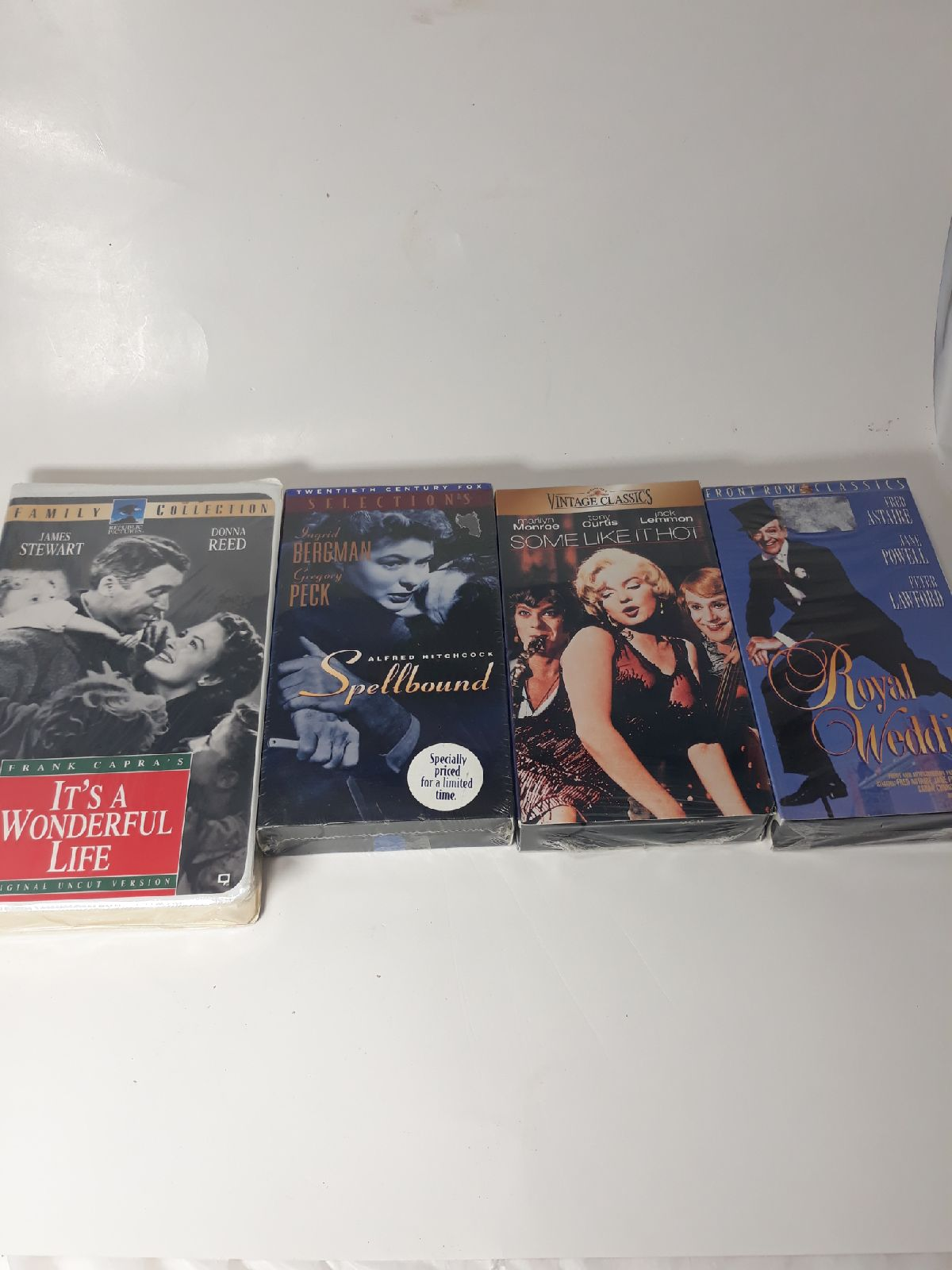 Lot of classic VHS tapes. NEW Sealed