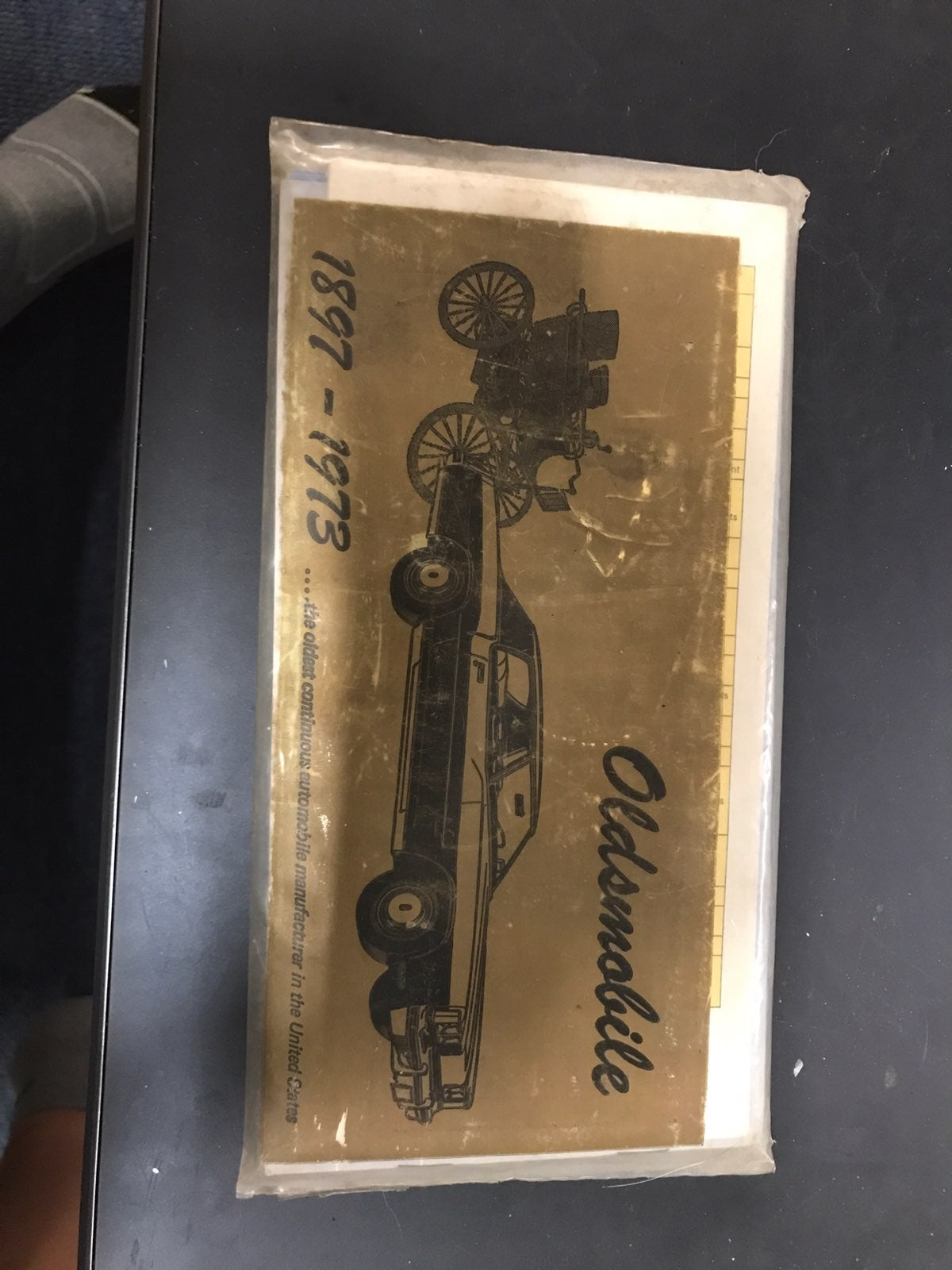 1973 Oldsmobile Glove Box Manuals