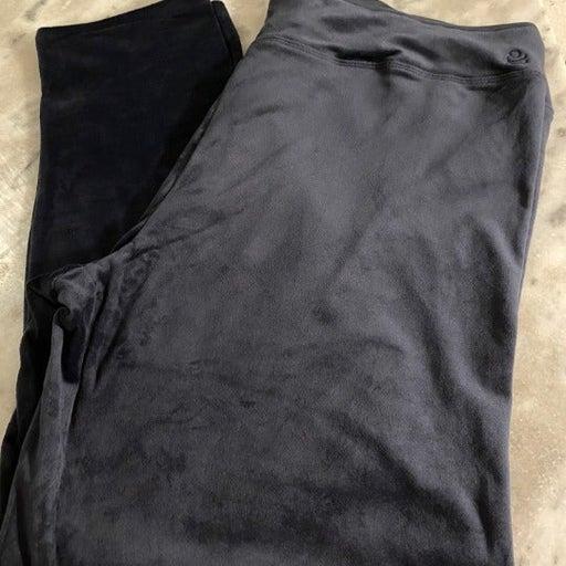 Double Plush Velour Leggings
