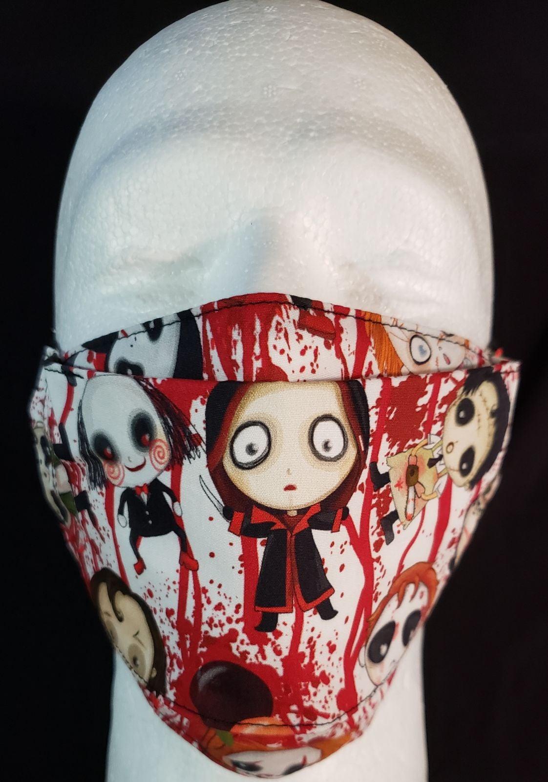 Bloody Horror Movie Characters Handmade