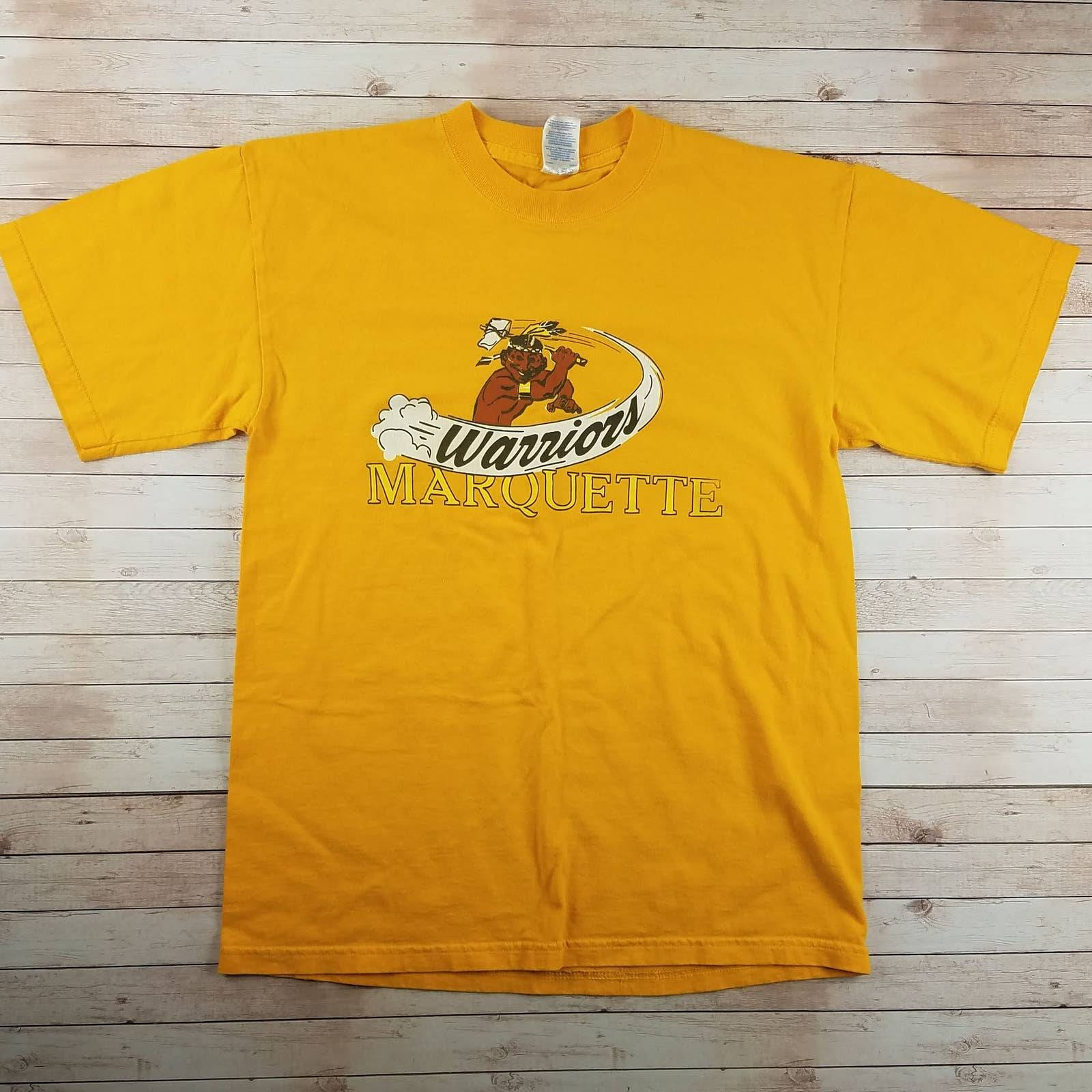 VTG 90s Marquette Warriors Tee Shirt