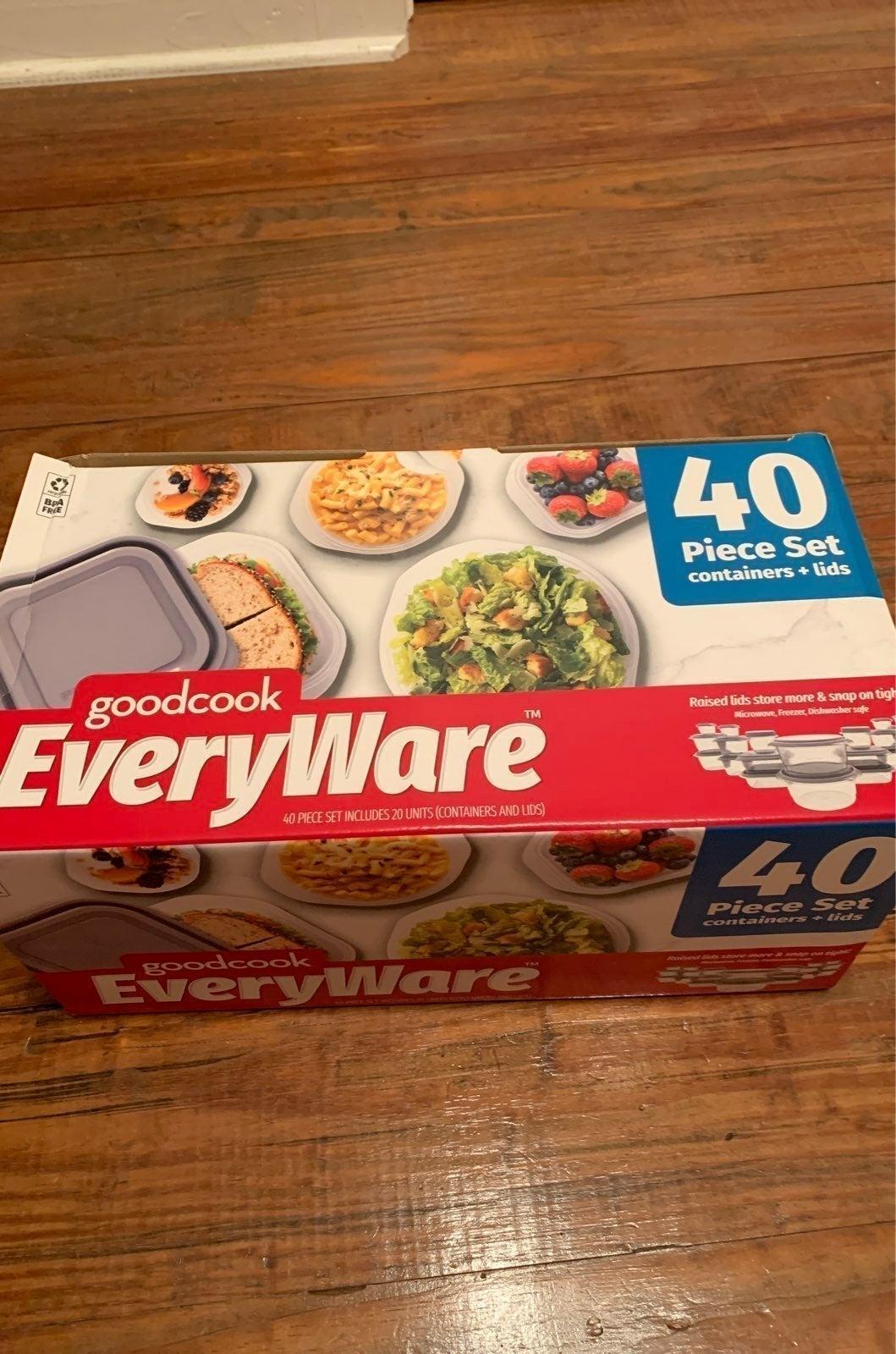 New goodcook EveryWare 40 piece set