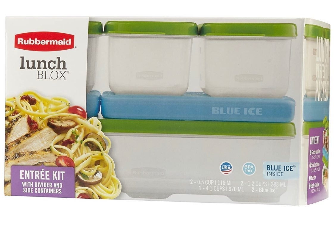 Rubbermaid Entree Kit Containers with Ic