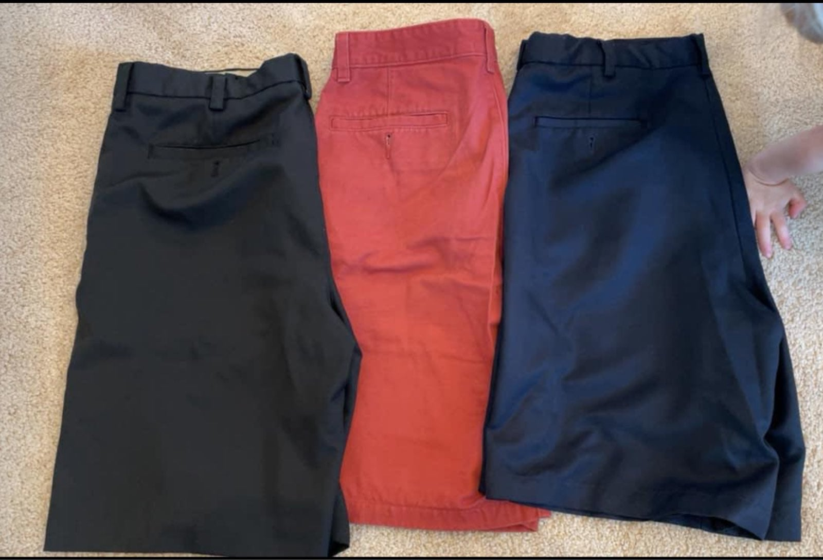 Mens size 34 Shorts Lot
