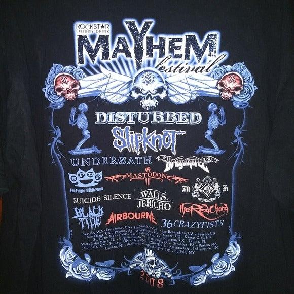 ROCKSTAR MAYHEM FESTIVAL T-SHIRT - Metal
