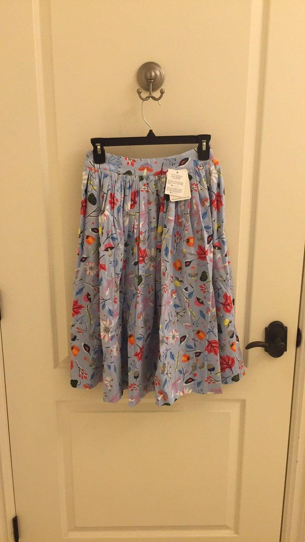 Dapper Day first frost print bella skirt