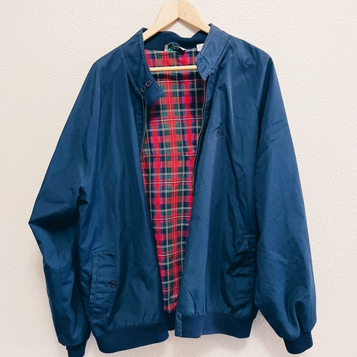 IZOD Men's Blue Blazer Coat