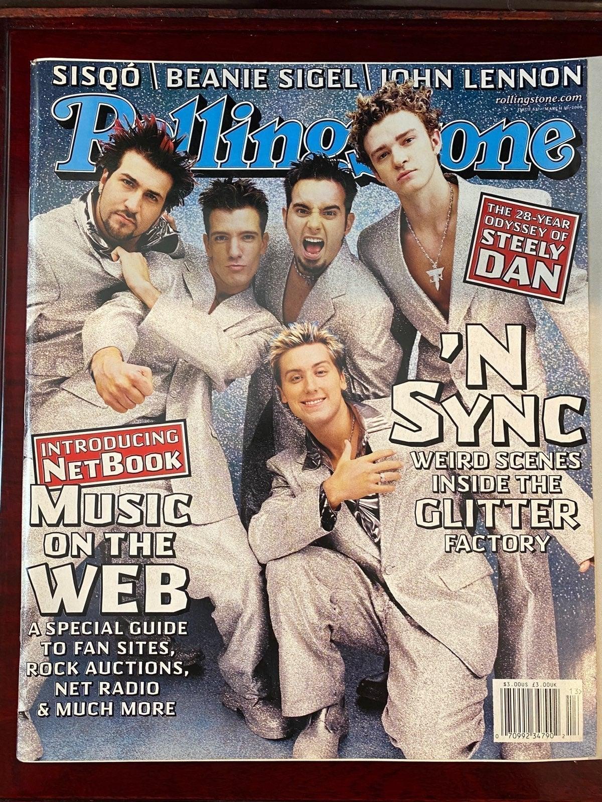 NSYNC's 1st Rollingstone Cover