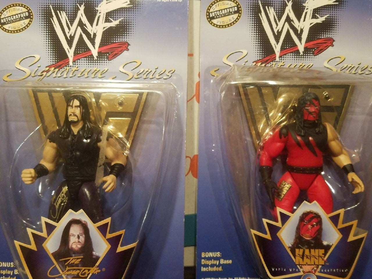 WWF Kane and The Undertaker