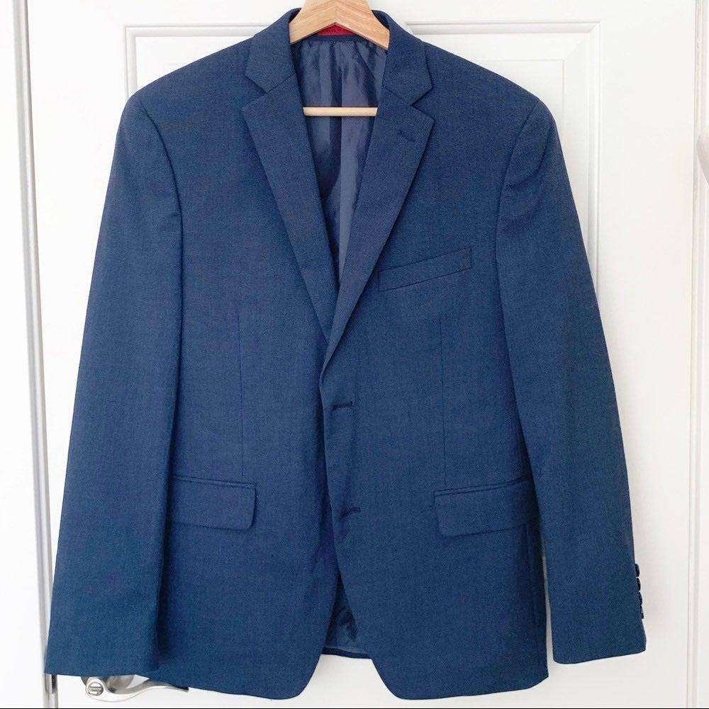 Alfani Men's 38S Blue Blazer Suit Jacket
