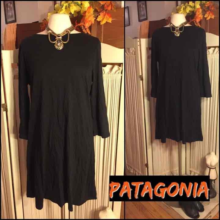 NWT-XL-PATAGONIA BLACK CORTON KNIT DRESS